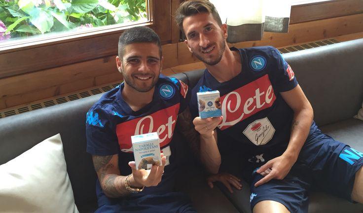 Taralli integrali veg di Leopoldo per i giocatori del Napoli in ritiro a dimaro