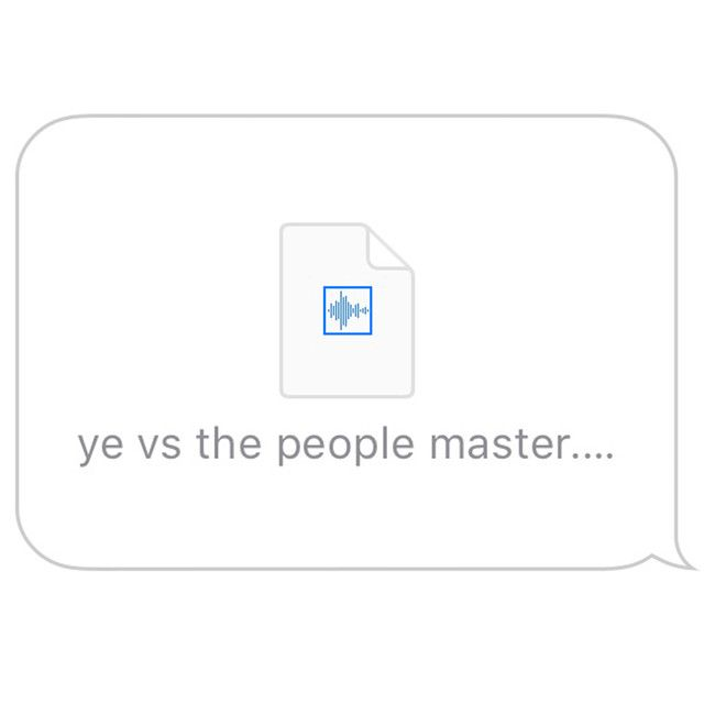 Ye Vs The People Starring Ti As The People By Kanye West New Music Releases Kanye West Kanye