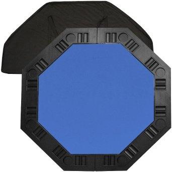 Amazon.com: Poker marca de 48 pulgadas 8-Jugador de Poker de mesa octogonal (Azul): Deportes y tiempo libre