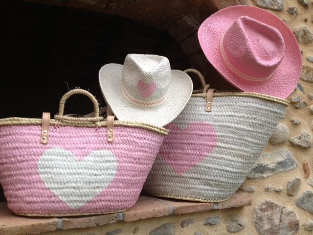 Capazos pintados lalis-bag