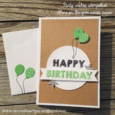 Stampin' Up! Shine On Specialty Designer Series Paper, Party wishes stampset, stempelset, stempelen, notecard holder, notecards, kaartenmapje, mapje met kaartjes, kaarten cadeauset, set kaarten, zelf kaarten maken