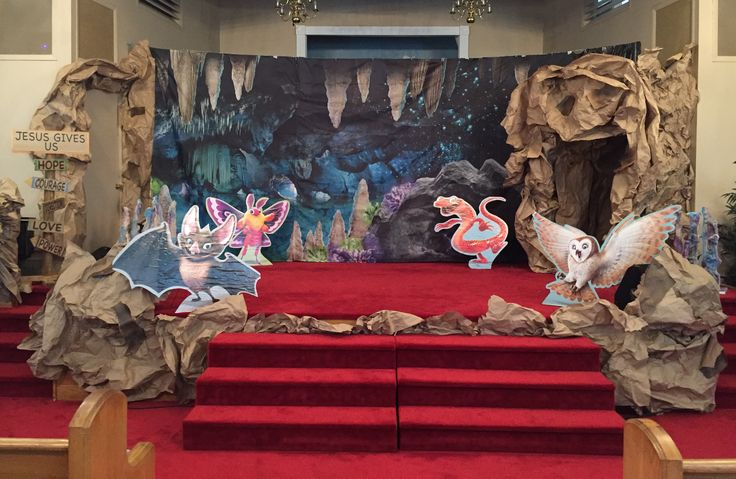 Cave Quest VBS 2016 - Main Stage