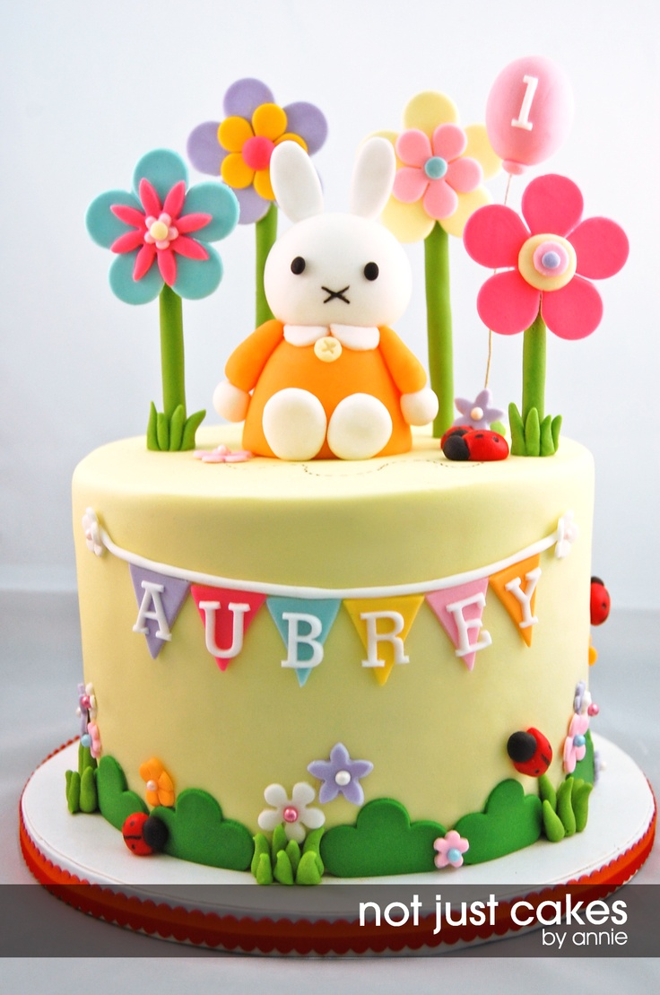 Miffy Themed Cake