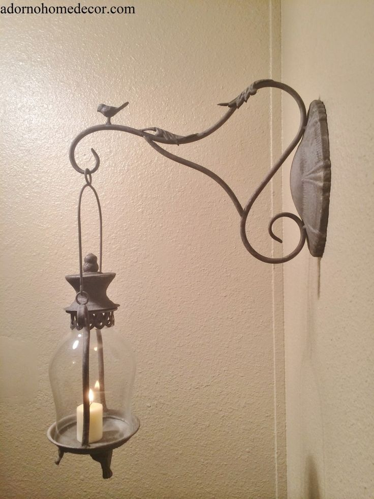 lantern candle wall sconce antique bird candle sconce with wall hook