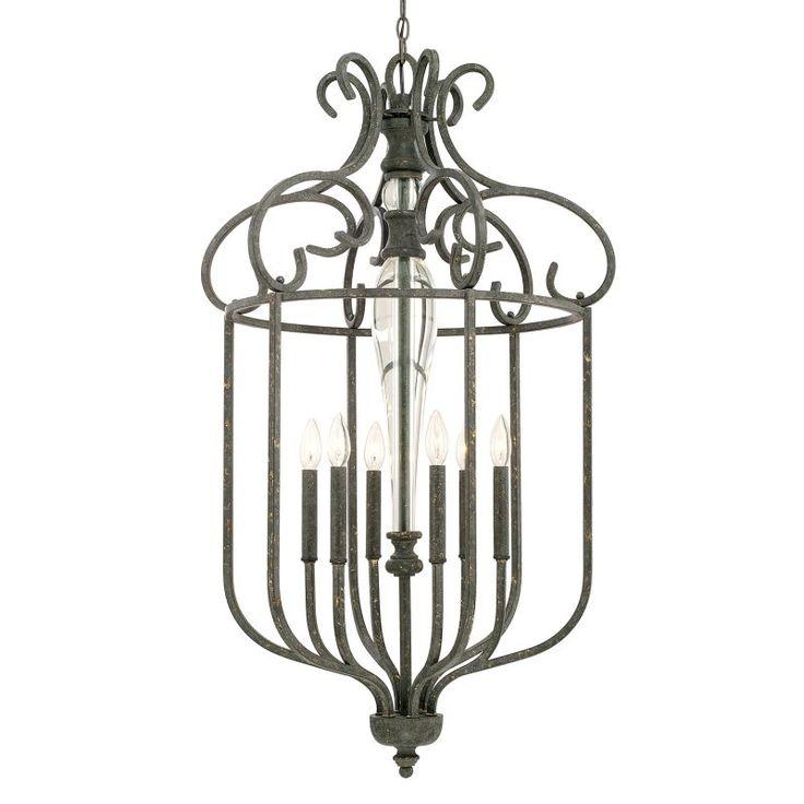 Capital Lighting 517761 Everleigh 6 Light 1 Tier Chandelier French Greige Indoor Lighting Chandeliers