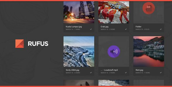 ABOUT THIS PRODUCTRufus is a modern and functional theme for Tequila. It is designed in...