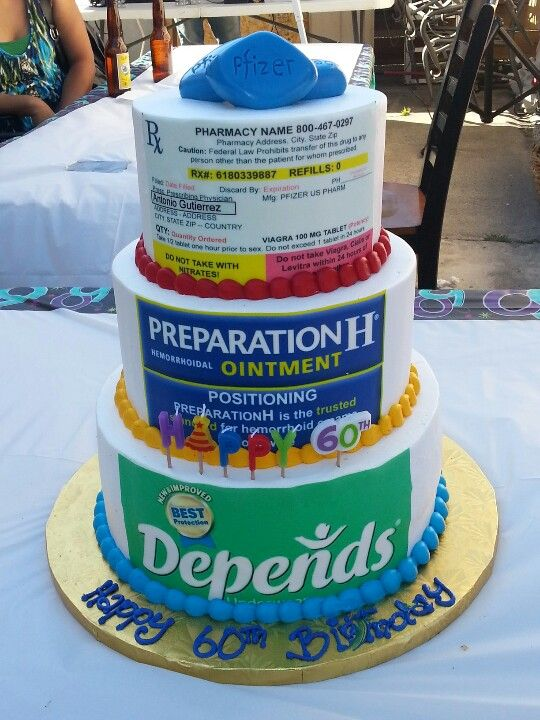 Funny 60th Birthday Cake Truth. www.mpdacrylics.com