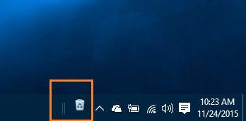 Recycle Bin Icon on to the taskbar Windows 10