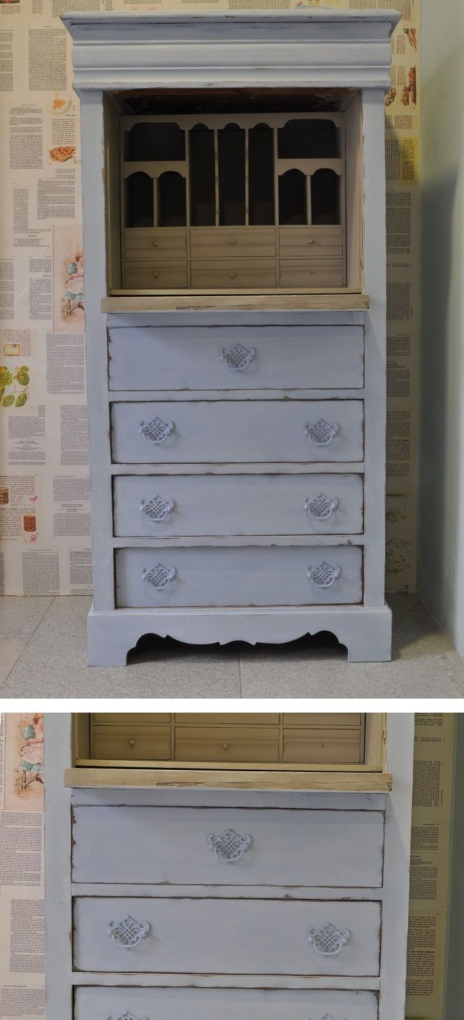 Fotos de muebles pintados con chalk paint reci n for Chalk paint muebles ikea
