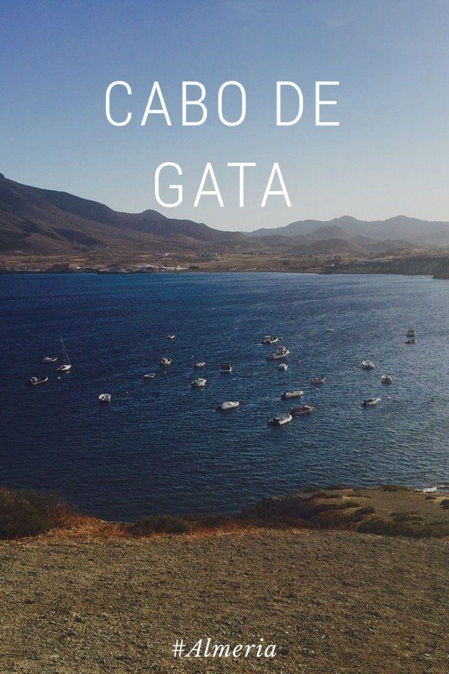 La Isleta del Moro in Cabo de Gata by Leda Nishino