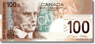 Dólar canadiense el más falsificado del mundo.