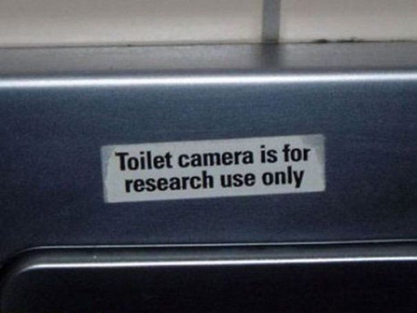Research Use Only #toilet #cam