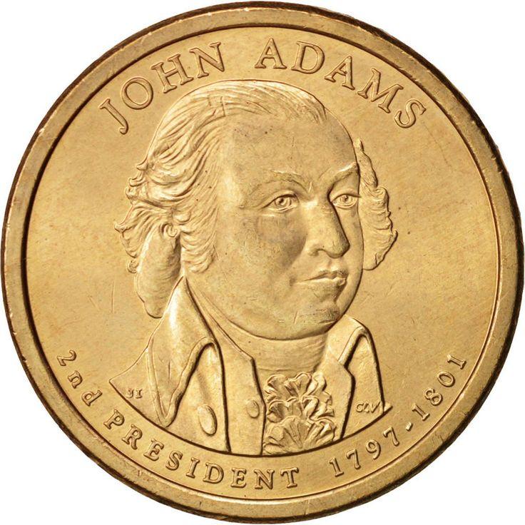United States, Dollar, Adams, 2007, Philadelphia, MS(60-62), KM:402