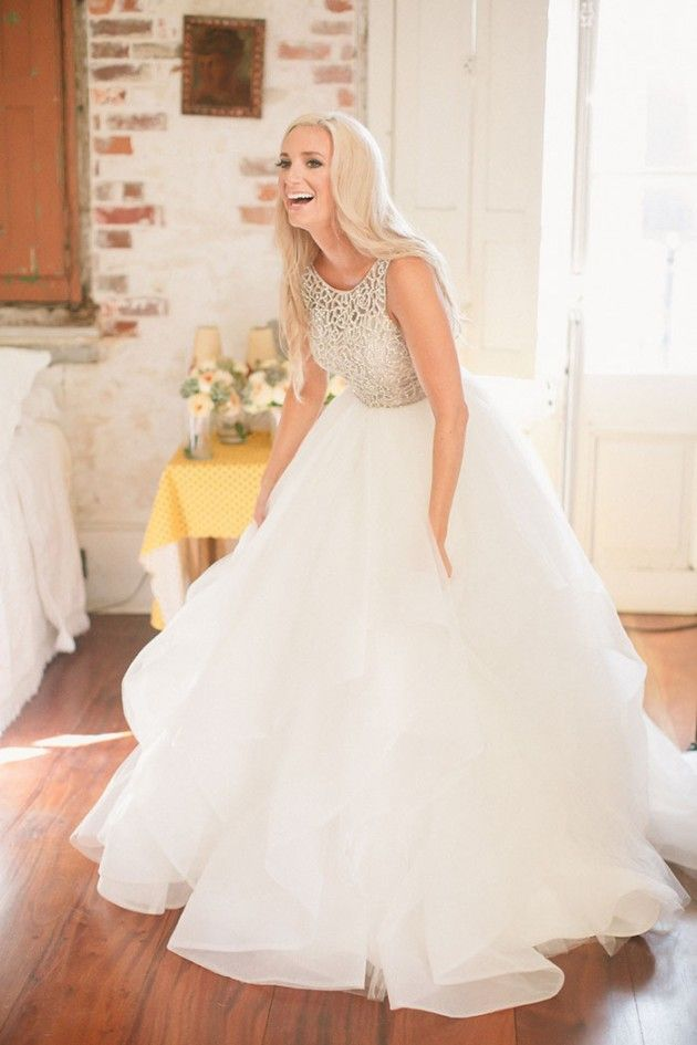 Lindsay and marty s new orleans wedding the dori gown for New orleans wedding dresses