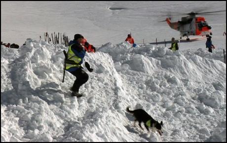 Fra vinterøvelse med Røde Kors på Finse ( 2012 )