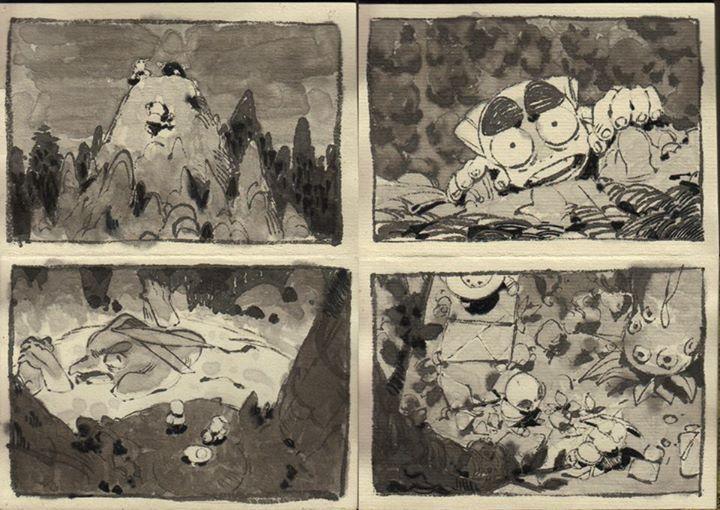 Best Storyboard Images On   Storyboard Nakamura