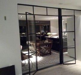 Stalen deuren/scheidingswand, Project Zwijndrecht