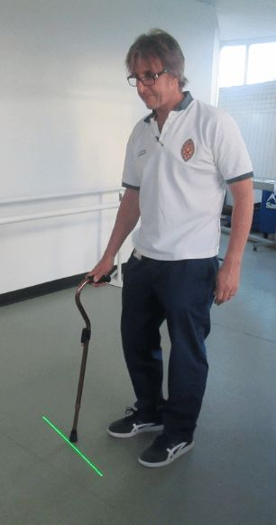 Patients in Penrith to benefit from the new equipment thanks to Penrith League of Friends https://i1.wp.com/www.cumbriacrack.com/wp-content/uploads/2017/11/Andrew-Speight-Senior-Physiotherapist-with-Neuro-Therapy-Team-in-Penrith.png?fit=306%2C582 People with Parkinson's in Penrith will benefit from a laser cane; a new piece of equipment to improve their walking. The laser cane will help patients with Parkinson's disease    http://www.cumbriacrack.com/patients-penrith-bene