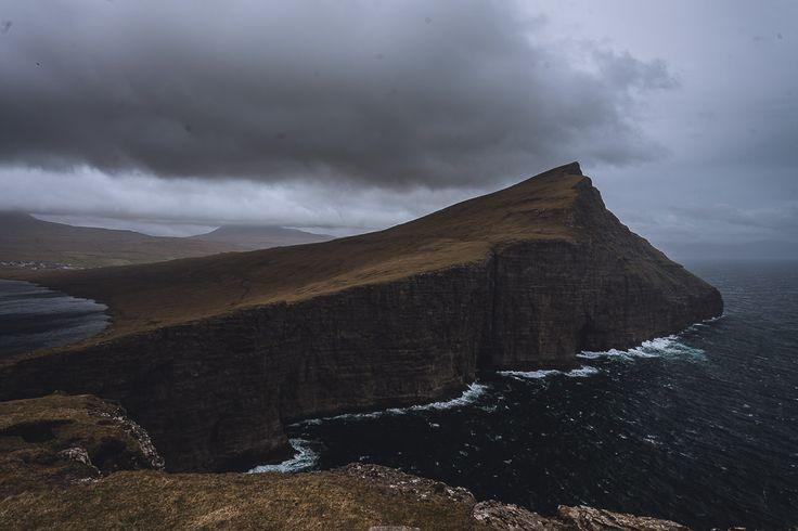 Die Wanderung am Sórvagsvátn hat uns eine atemberaubende Aussicht beschert! - Färöer Inseln