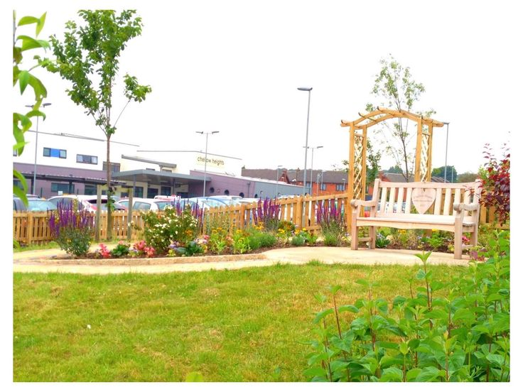 Memorial garden - a special place for our families