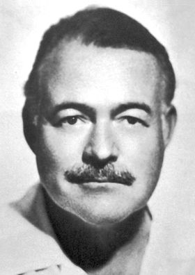 Ernest Miller Hemingway:prolific Pulitzer Prize winning author, died by suicide with a shotgun to his head.