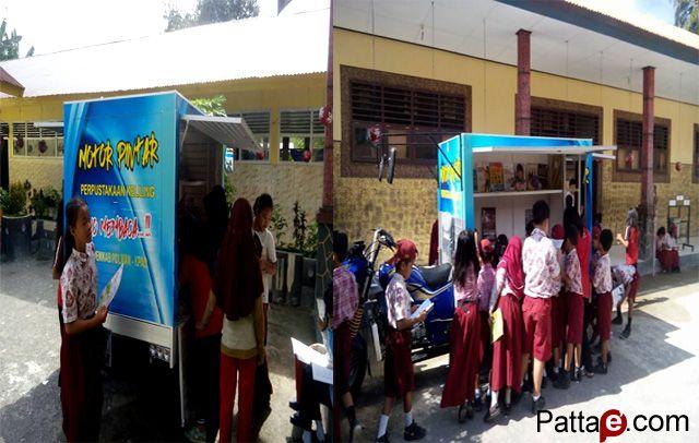 Motor Pintar: Menjadi Primadona Kalangan Siswa Sekolah Dasar di Desa Batetangga