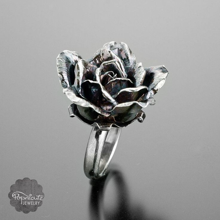 """50 Likes, 7 Comments - Kharisma Ryantori Sommers (@popnicute) on Instagram: """"Camilla #Rose #ring. #handmadewithlove from #argentium #sterlingsilver. #popnicute #riojeweler…"""""""