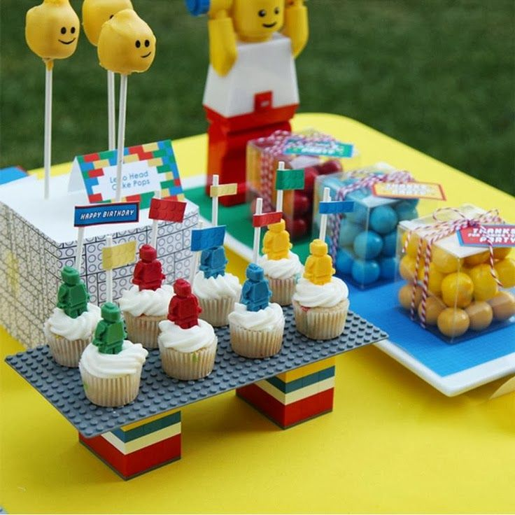 1000 ideas sobre decoraciones de fiesta lego en pinterest
