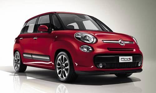 #Fiat #500L. Belle à l'extérieur, spacieuse à l'intérieur.