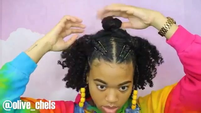 Trendy NO Heat Styles For Natural Hair (Tutorial) – Kinky Hair Rocks