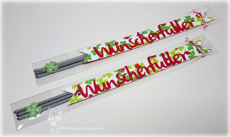 ~* Jay Jays kreative Welt *~: Silvestervorbereitungen - Wunscherfüller