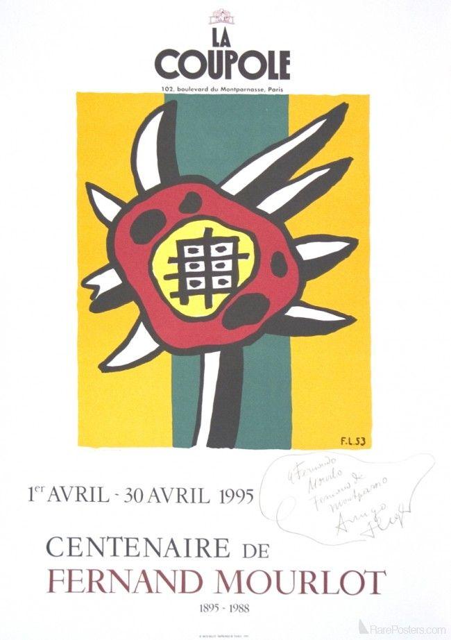 Fernand Leger- La Coupole, le Centennaire de Fernand Mourlot