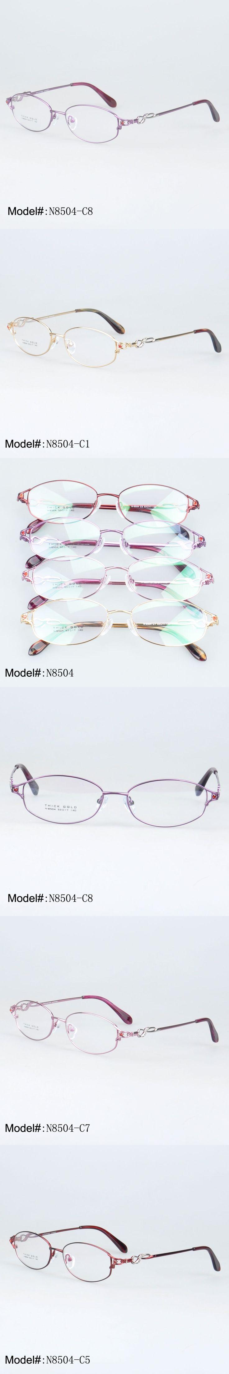 MY DOLI N8504 Full rim metal oval optical eyewear for beauty woman's frame myopia spectacles prescription eyewear
