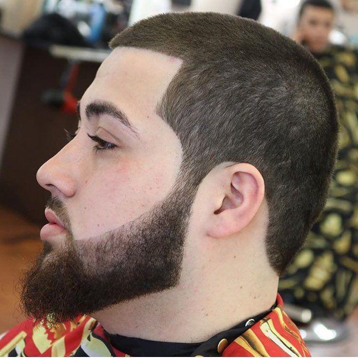 short buzz  cuts with beard styles