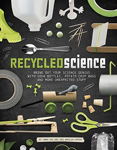 The book Recycled Science by Tammy Enz and Jodi Wheeler-Toppen combines science and household products to make amazing things, from a solar hot dog cooker to your very own lava lamp!  In the first chapter, you learn how to make things like a bow and arrow with Popsicle sticks.  Scott W., 11, Central South Carolina Mensa