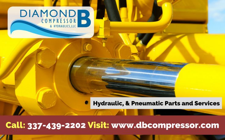 Diamond B Compressor & Hydraulics Provide Sales and high quality Service of Hydraulic Pumps, Hydraulic Motors, and Hydraulic  Cylinders. For more details, please call us today at 337-439-2202