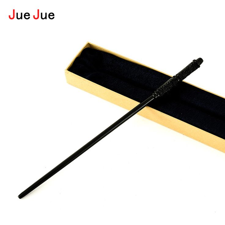 JueJue Newest Quality Sturdy Deluxe Metal Core COS Harry Potter Severus Snape Magic Wands/Stick with Gift Box Packing