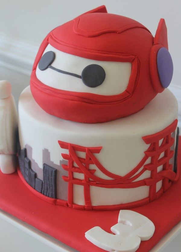 Big Hero 6 Party Cake