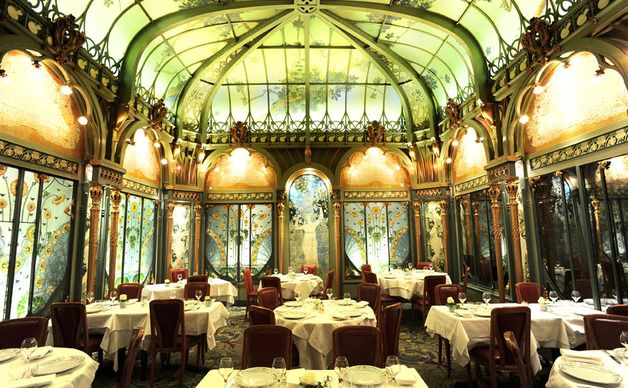 Eat at brasserie bofinger on your trip to paris not only