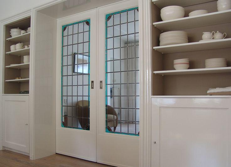 Kamer en suite deuren met kastruimte jaren 30 woning