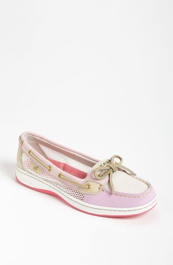 Saw these first on @Jennifer Ross and got these pink ones yesterday.  Sperry Top-Sider® 'Angelfish' Boat Shoe available at Nordstrom