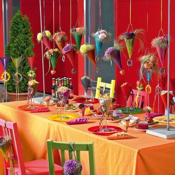 BLÜTE & # 39; s Fachbuch Tischdekoration: Tischdekoration für Kinderfeste