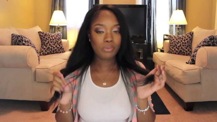 Natural black clip in hair extensions for black women....my new style love her tutorials!!!!