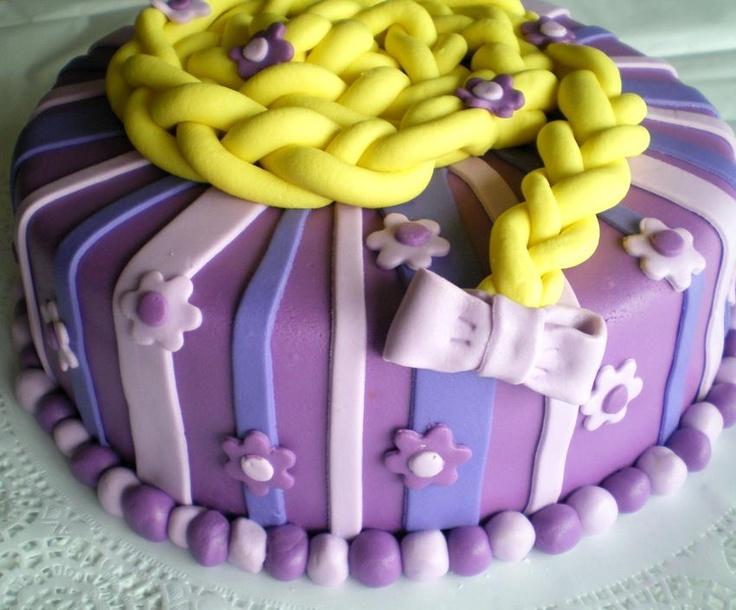 La torta de La Princesa Rapunzel