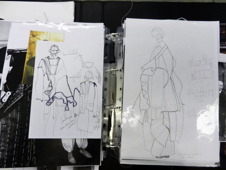 Fashion Sketchbook - fashion sketches & design development; fashion student portfolio // Laura Tanzer