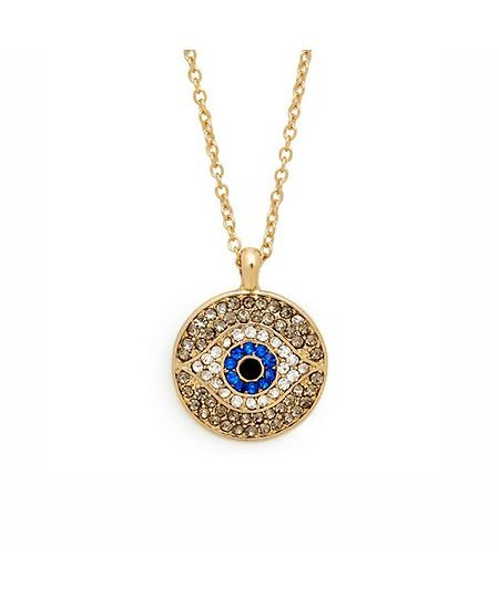 Best 25 evil eye pendant ideas on pinterest evil eye charm this evil eye crystal pendant is a hot fashion item the evil eye necklace comes with a long gold chain and can go with goth fashion vintage or punk aloadofball Gallery