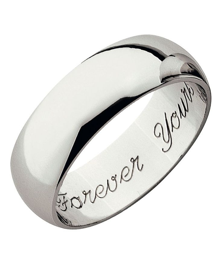 WILLS RING Buy 9ct White Gold Heavyweight Forever Yours Wedding Ring