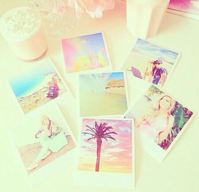 I love to collect the summer memories because these things are the most beautiful memories in the world!