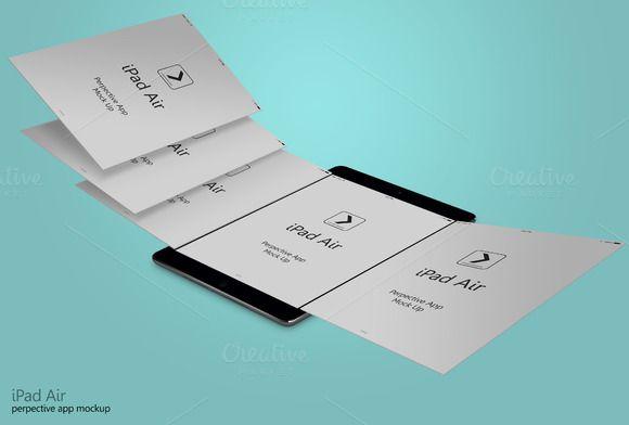 Perspective App Ipad Air #2 by adedivasyaheera on @creativemarket