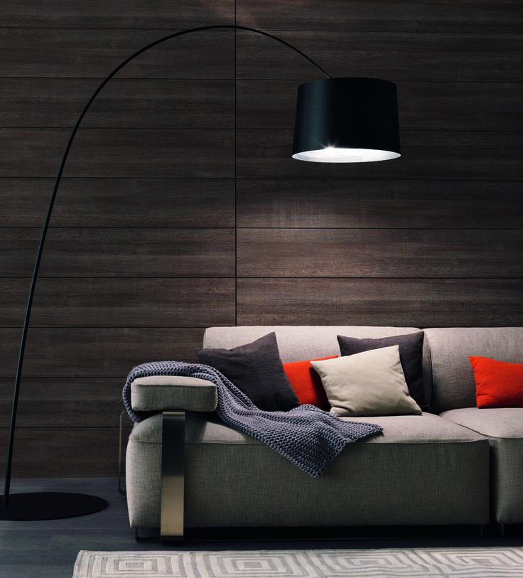 Cannes sofá by misuraemme diseño ferruccio laviani